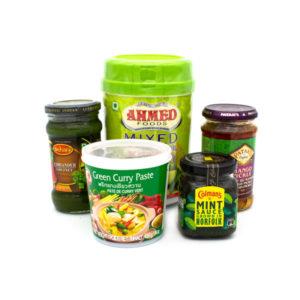 Chutneys, Pickles & Pasten